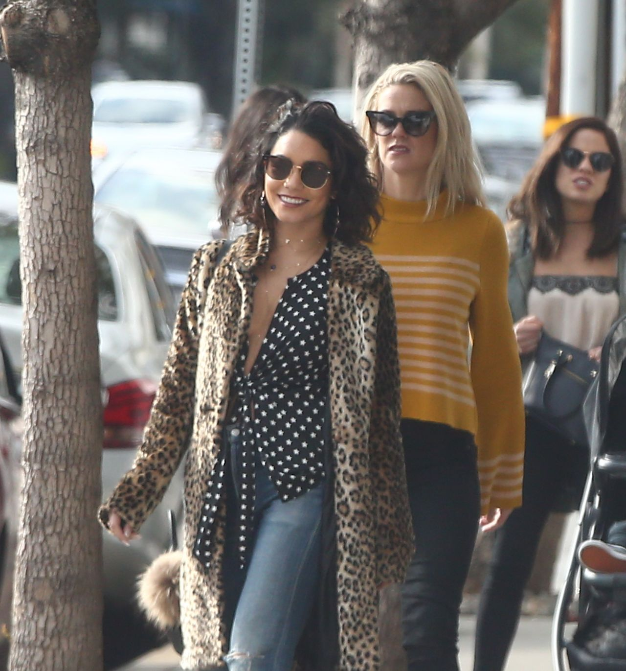 Vanessa Hudgens and Ashley Tisdale - Have Lunch in LA 1/15/ 2017