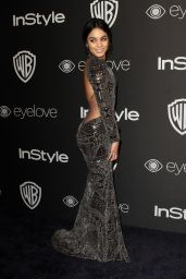 Vanessa Hudgens Instyle And Warner Bros Golden Globes