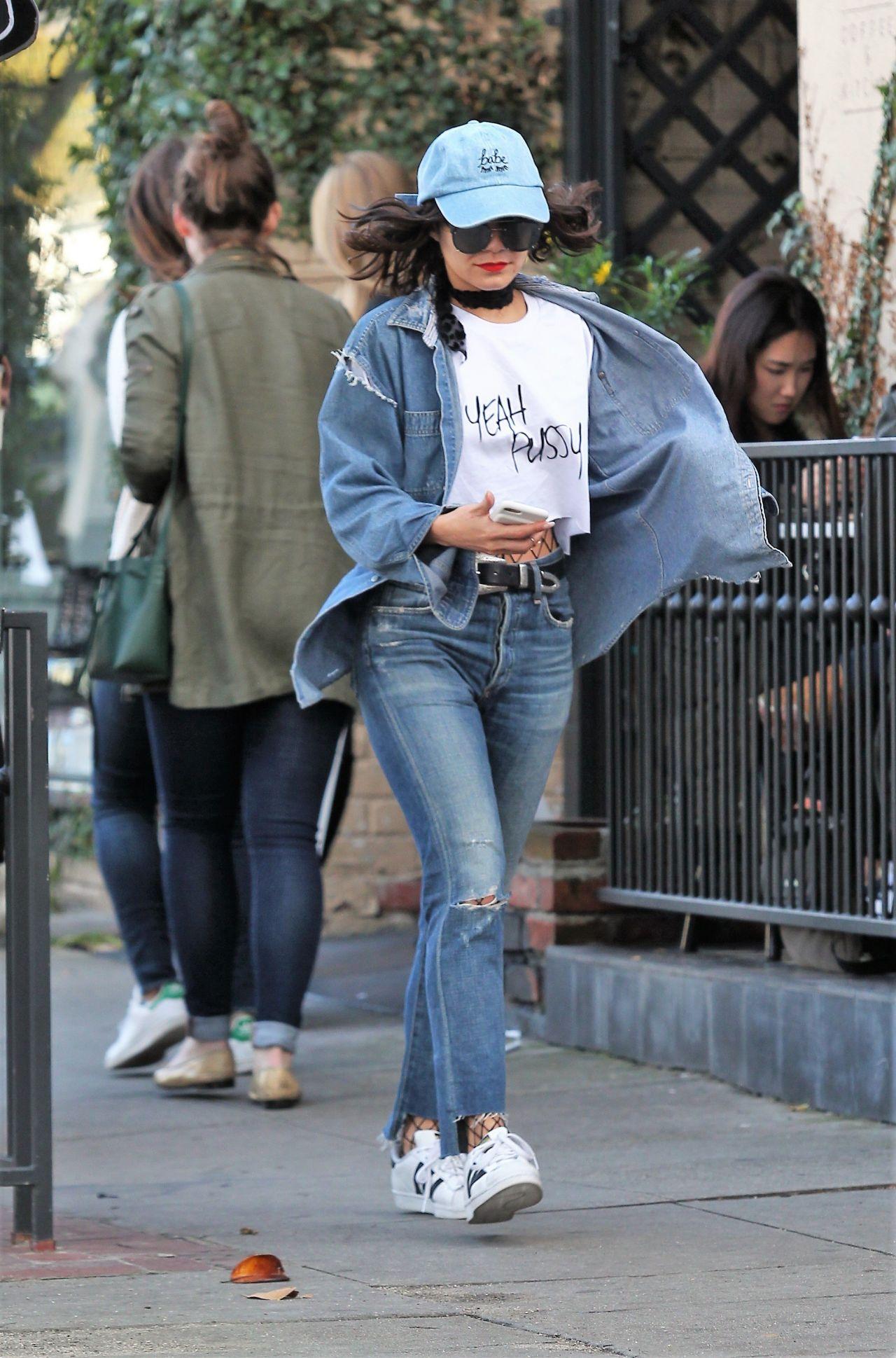 Vanessa Hudgens - Out in LA 1/21/ 2017