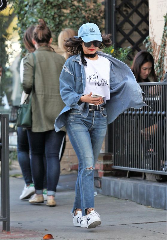 Vanessa Hudgens - Out in LA 1/21/ 2017