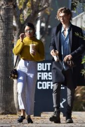 Vanessa Hudgens - Spotted Out in Studio City 1/2/ 2017