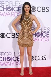Victoria Justice – People's Choice Awards in Los Angeles 1/18/ 2017