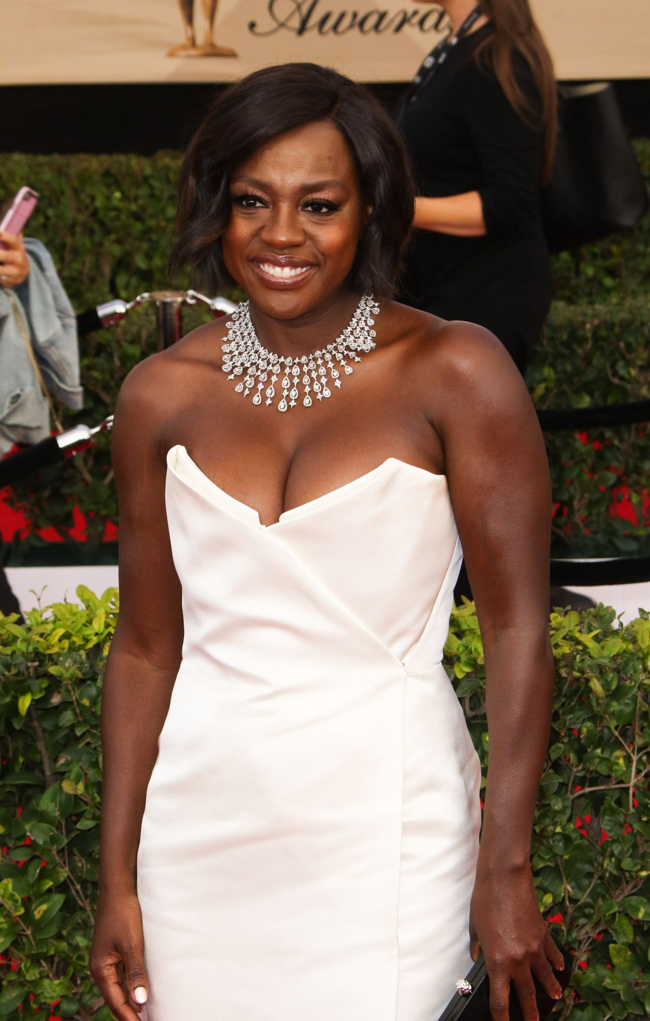 Viola Davis Sag Awards In Los Angeles 1 29 2017
