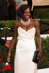 Viola Davis – SAG Awards in Los Angeles 1/29/ 2017