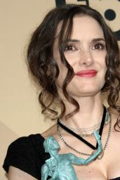 Winona Ryder – SAG Awards in Los Angeles 1/29/ 2017