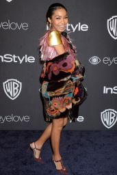 Yara Shahidi – InStyle and Warner Bros Golden Globes After Party 1/8/ 2017