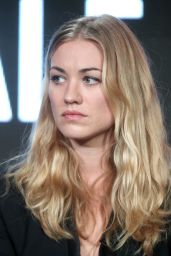 Yvonne Strahovski - Hulu 2017 Winter TCA Tour in Pasadena 1/7/ 2017
