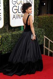 Zazie Beetz – Golden Globe Awards in Beverly Hills 01/08/ 2017