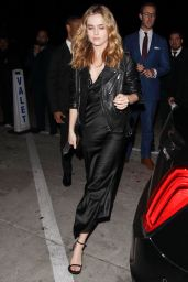 Zoey Deutch at Catch in Los Angeles 1/6/ 2017