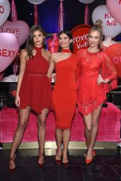 Josephine Skriver, Sara Sampaio and Taylor Hill - Share Their Hottest Valentine