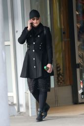 Abbie Cornish Arrived at Pierre Elliot Trudeau in Montreal 2/274/ 2017