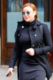 Abbie Cornish - Heads Out of Her Hotel in New York 2/2/ 2017