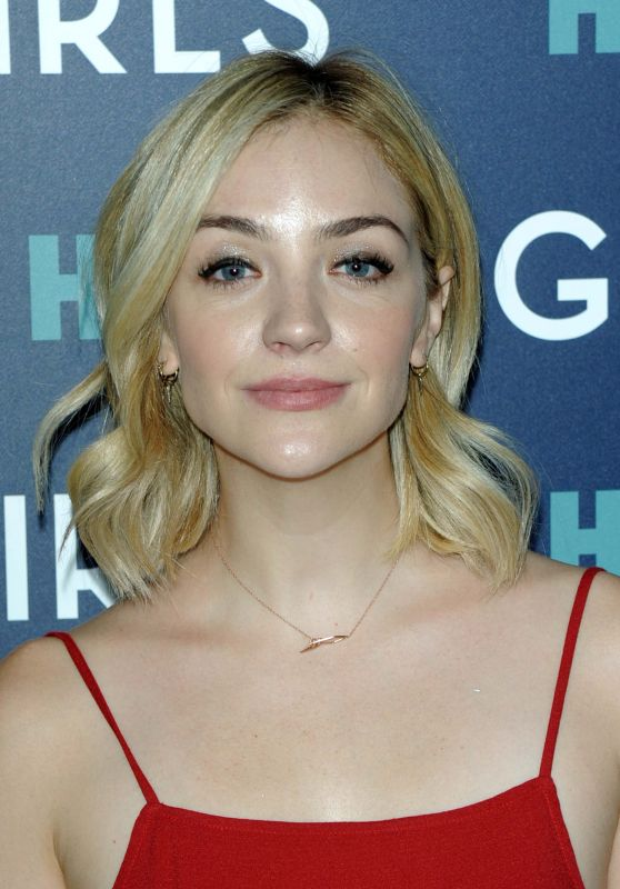 Abby Elliott – 'Girls' TV Series Season Finale Premiere in NYC 2/2/ 2017