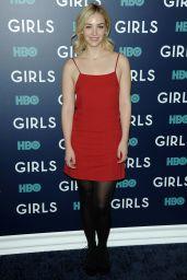 Abby Elliott – 'Girls' TV Series Season Finale Premiere in NYC 2/2/ 2017