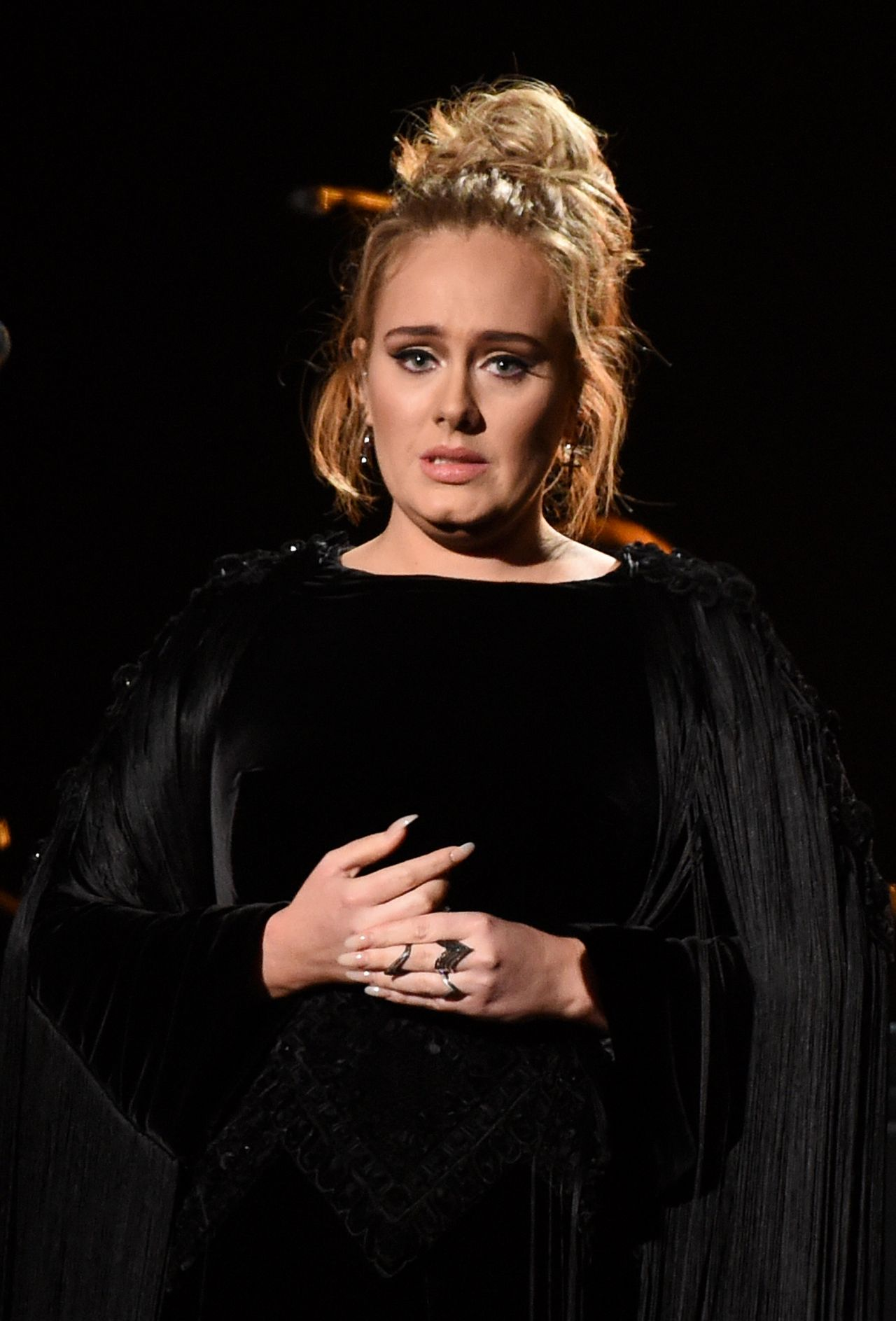 Adele Performs at 59th Annual GRAMMY Awards in Los Angeles 02/12/2017