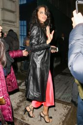 Adriana Lima - After Attending at the Jason Wu Fashion Show in NYC 2/10/ 2017
