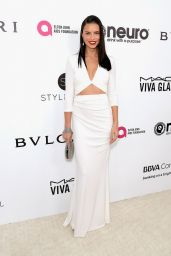 Adriana Lima at Elton John AIDS Foundation's Academy Awards 2017 Viewing Party in West Hollywood