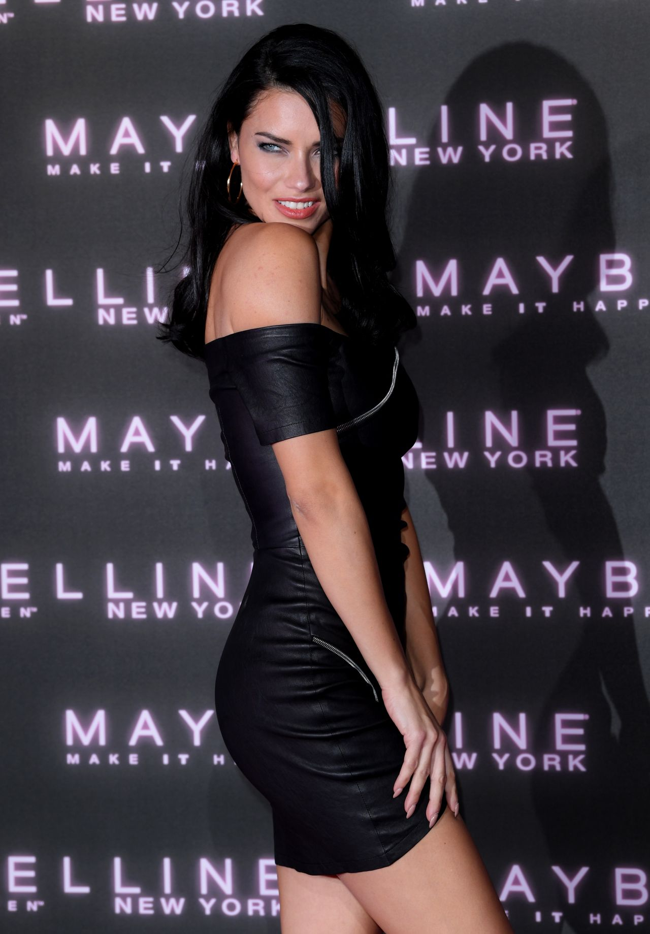Adriana Lima Maybelline Bring On The Night Party For