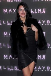 Adriana Lima – Maybelline 'Bring on the Night Party' for London Fashion Week 2/18/ 2017