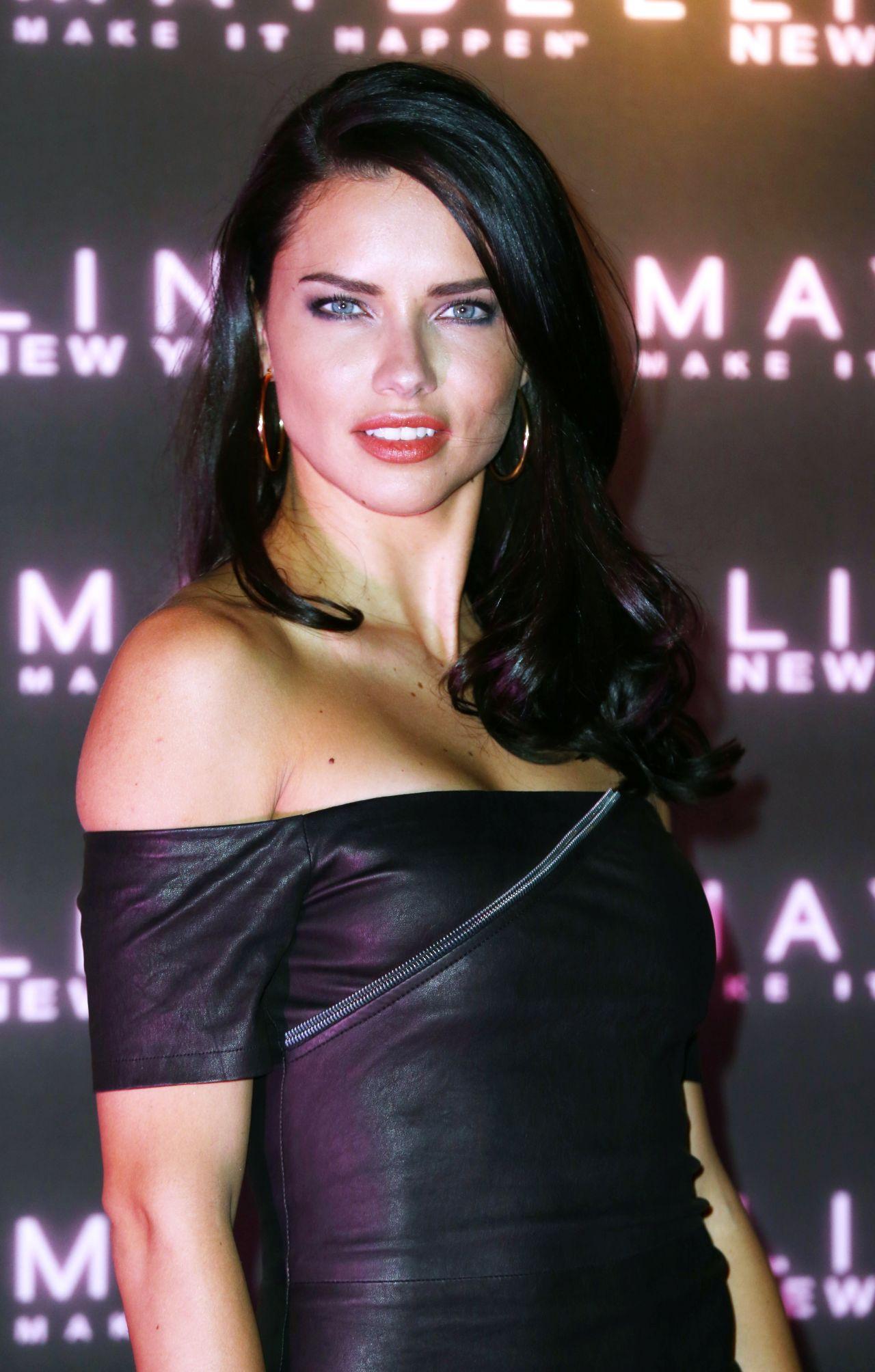 Adriana Lima Fashion Week Nyc