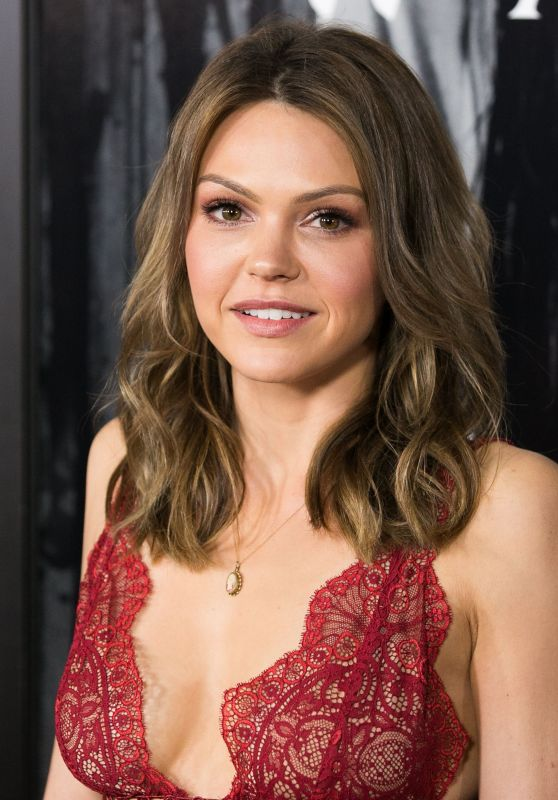 Aimee Teegarden - Rings Premiere in LA 2/2/ 2017