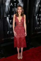 Aimee Teegarden - Rings Premiere in LA 2/2/ 2017