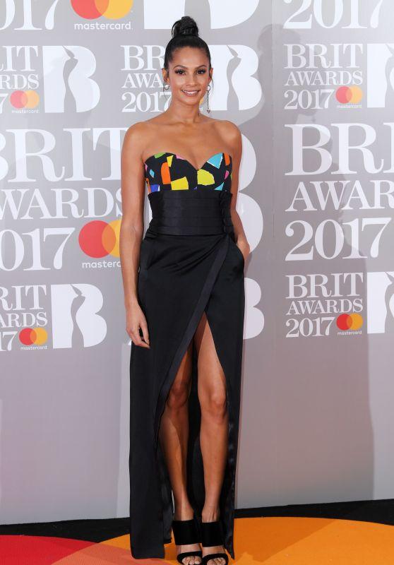 Alesha Dixon – The Brit Awards at O2 Arena in London 2/22/ 2017