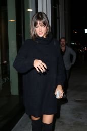 Alessandra Ambrosio at Catch LA in West Hollywood 2/2/ 2017