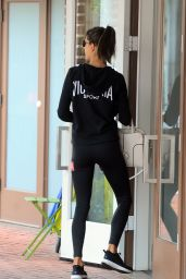 Alessandra Ambrosio - Going For a Workout in Los Angels 2/7/ 2017