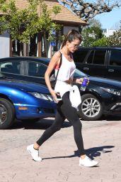 Alessandra Ambrosio Gym Style - Brentwood 2/23/ 2017