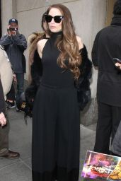 Alexa Ray Joel Arriving to Appear on Today Show in New York City 2/15/ 2017