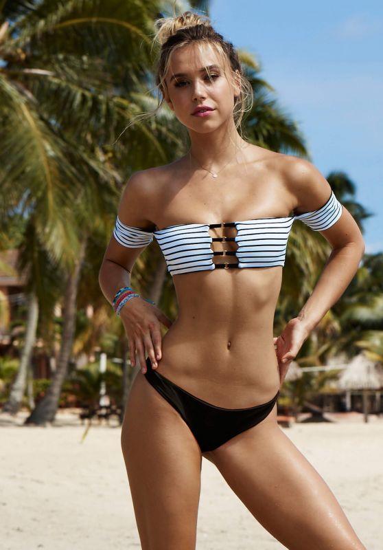 Alexis Ren Bikini Photoshoot - Beach Bunny Swimwear 2017