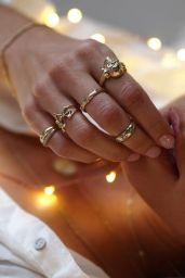 Alexis Ren Photoshoot - Logan Hollowell Jewelry 2017