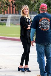 Ali Larter - On a Movie Set in Hollywood 2/16/ 2017