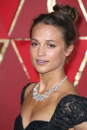Alicia Vikander – Oscars 2017 Red Carpet in Hollywood