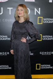 Alison Sudol – Gender Revolution: A Journey With Katie Couric Premiere in NYC 2/2/ 2017