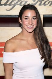 Aly Raisman - ESPN The Party in Houston 2/3/ 2017