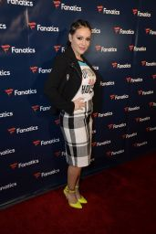 Alyssa Milano - Fanatics Super Bowl Party in Houston 2/4/ 2017