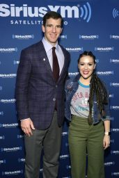 Alyssa Milano - SiriusXM at Super Bowl LI Radio Row in Houston, TX 2/3/ 2017