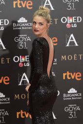 Amaia Salamanca – Goya Awards in Madrid 02/06/ 2016