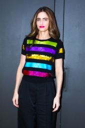 Amanda Peet - Marc Jacobs Show, New York Fashion Week 2/16/ 2017
