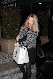 Amanda Seyfried at Madeo Restaurant in Los Angeles 2/4/ 2017