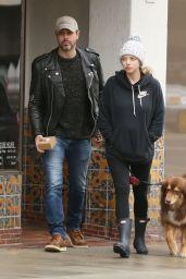 Amanda Seyfried - Walking Her Dog in Hollywood 2/6/ 2017