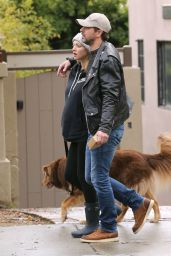 Amanda Seyfried - Walking Her Dog in Hollywood 2/6/ 2017