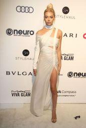 Amanda Steele at Elton John AIDS Foundation Academy Awards 2017 Viewing Party in LA