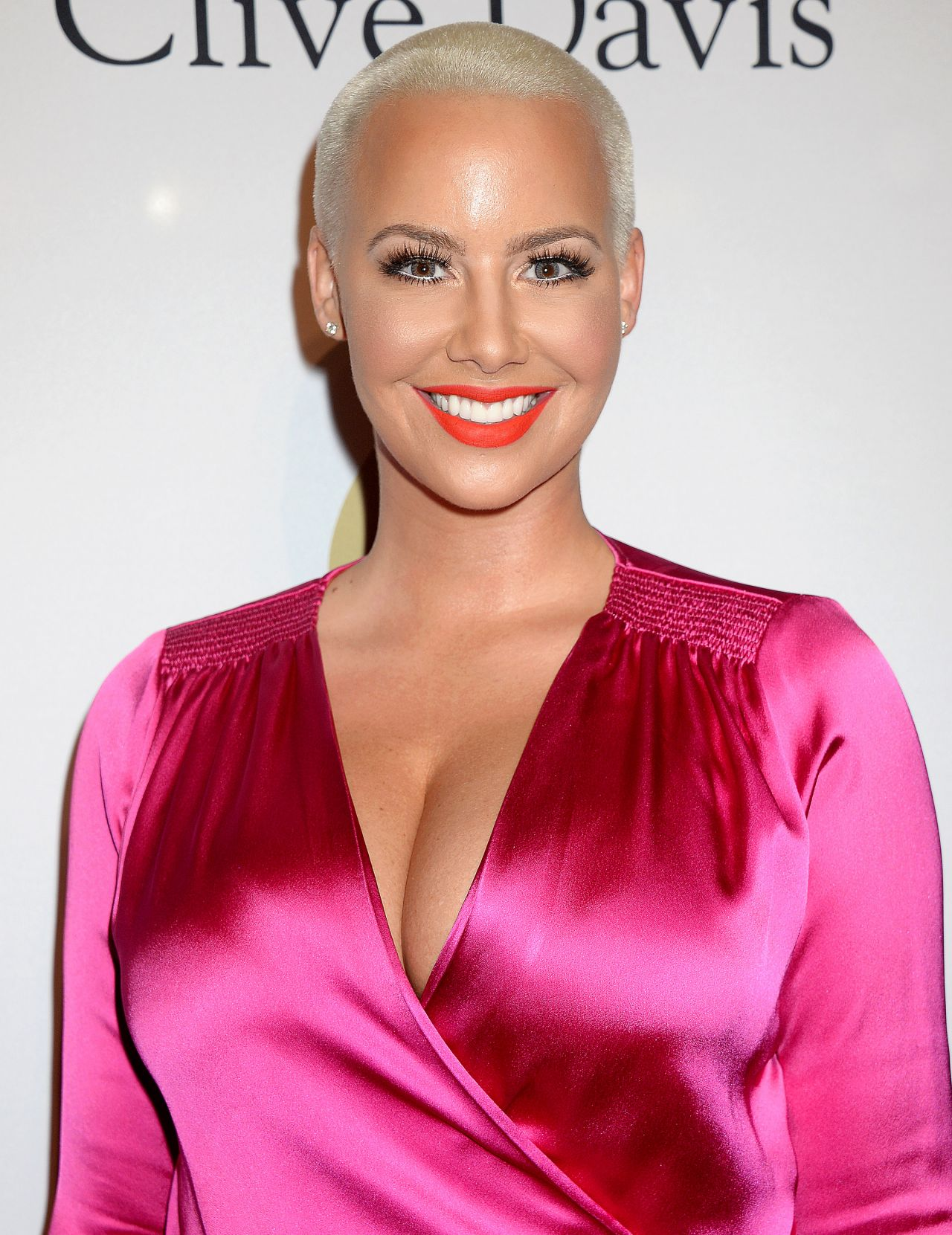 Amber Rose At Clive Davis Pregrammy Party In Los Angeles 2