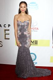 Amber Stevens West – 48th NAACP Image Awards in Los Angeles 2/11/ 2017