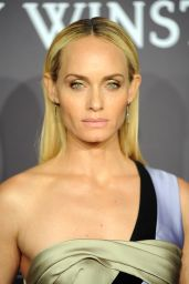 Amber Valletta at amfAR New York Gala Red Carpet, 2/8/ 2017