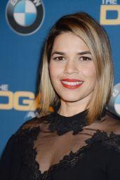 America Ferrera – Directors Guild Awards in Los Angeles 2/4/ 2017