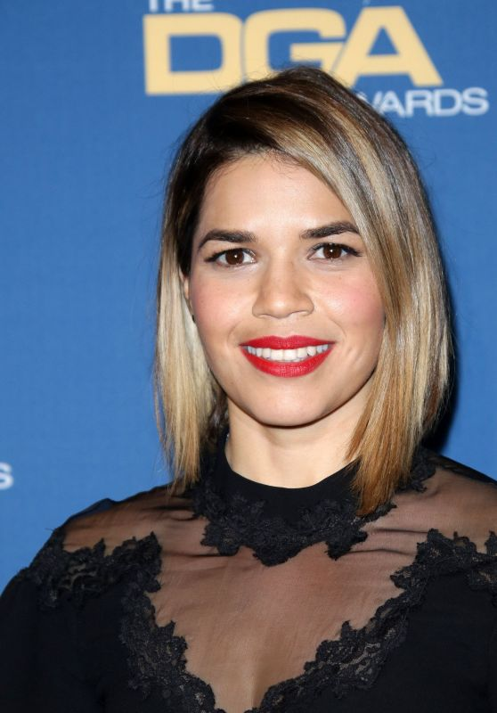 America Ferrera – Directors Guild Awards in Los Angeles 2/4/ 2017